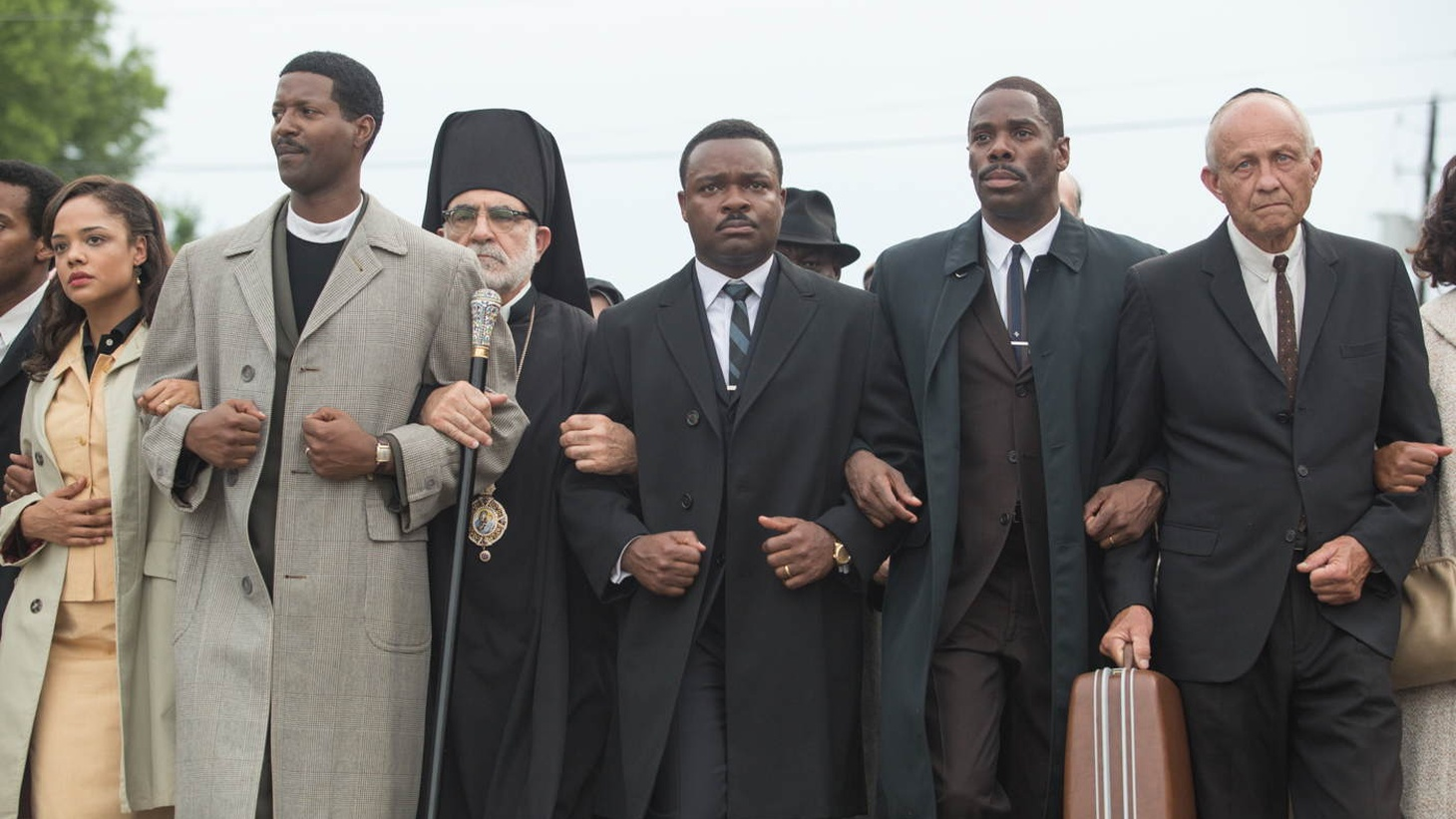 """Selma"" is a drama based on Martin Luther King Jr.'s voting rights marches, starring David Oyelowo, Carmen Ejogo, and Tim Roth."