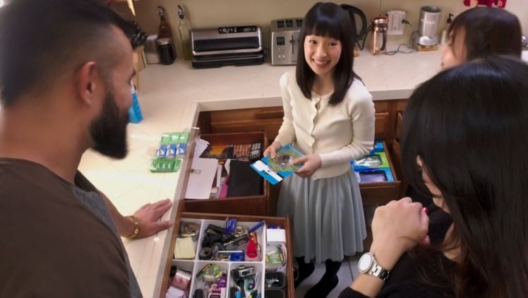 "The Netflix show ""Tidying Up with Marie Kondo"" seems to be everywhere. In each episode, Kondo goes to a household and teaches her KonMari Method of tidying up."