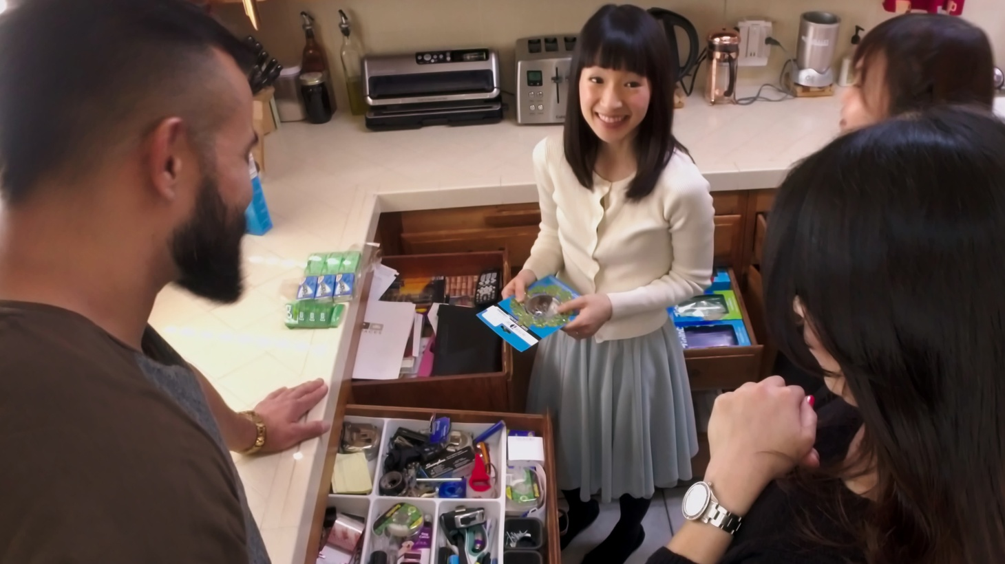 """Tidying Up with Marie Kondo""."