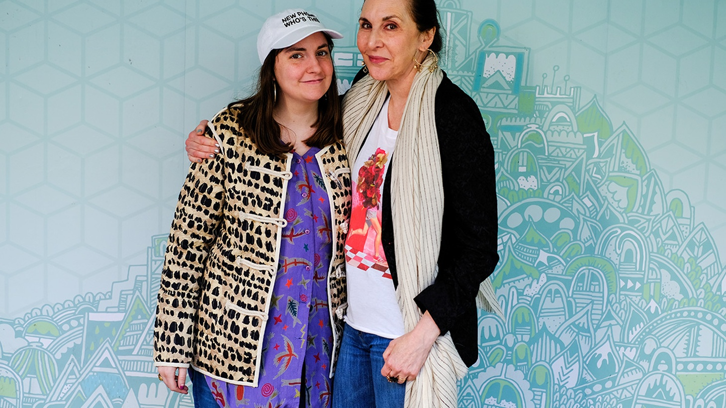 """New York artist Laurie Simmons has made a movie called """"My Art,"""" which includes a cameo by her daughter, Lena Dunham. The film is about a 60-something woman artist breaking ground on a new project. It deals with some very timely feminist issues."""