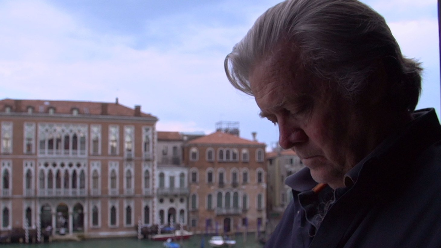 """Steve Bannon in """"The Brink."""""""