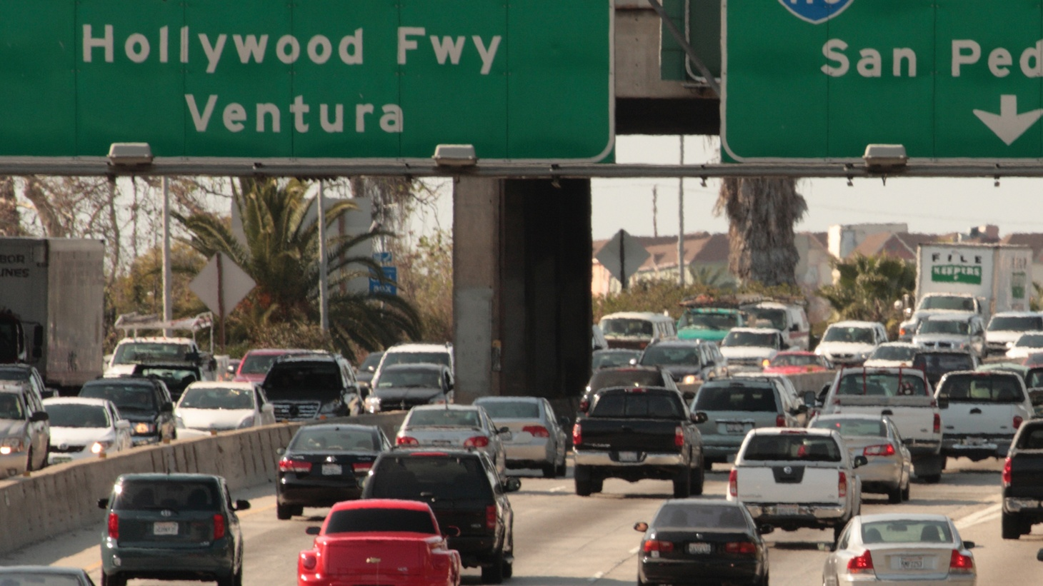 "Press Play continues its series, ""Making LA,"" with a look at traffic in the city. Then, Los Angeles has more hit and runs per capita than any other American city. Why? Finally, Hollywood and Berlin have a long and mutually beneficial relationship when it comes to film."