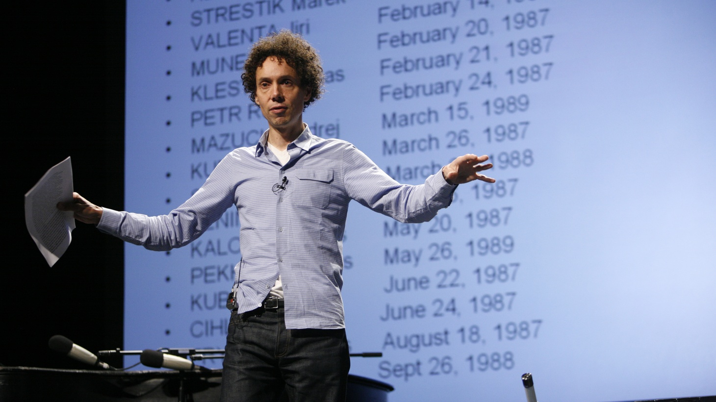 "Malcolm Gladwell speaks about ""capitalization"" of human potential within different regions and cultures in 2008."