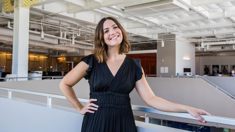 "Mandy Moore says her career began at an Orlando Magic game when she was 12. ""A lightbulb went off"" as she watched a girl her age sing the national anthem."