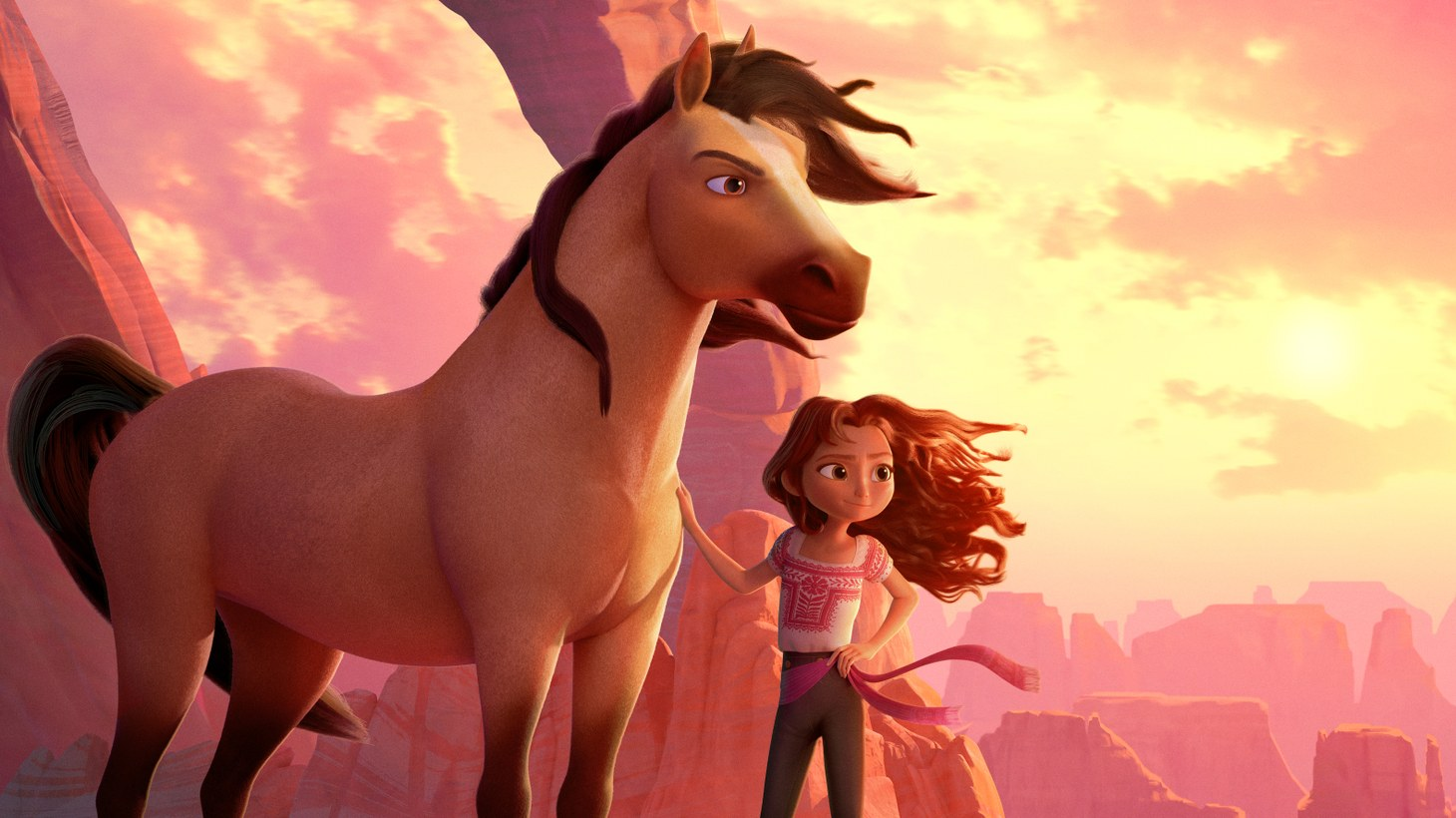 """""""Spirit Untamed"""" is about a young woman who befriends a wild mustang as she adjusts to life after her mother's death."""