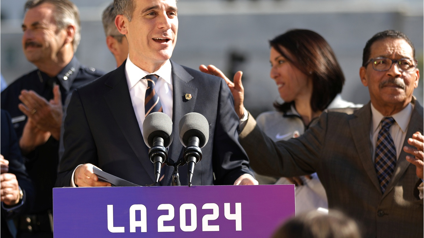 LA Mayor Garcetti explains his plans to create more housing and help get the homeless out of tent encampments. Also, is he going to run for governor?
