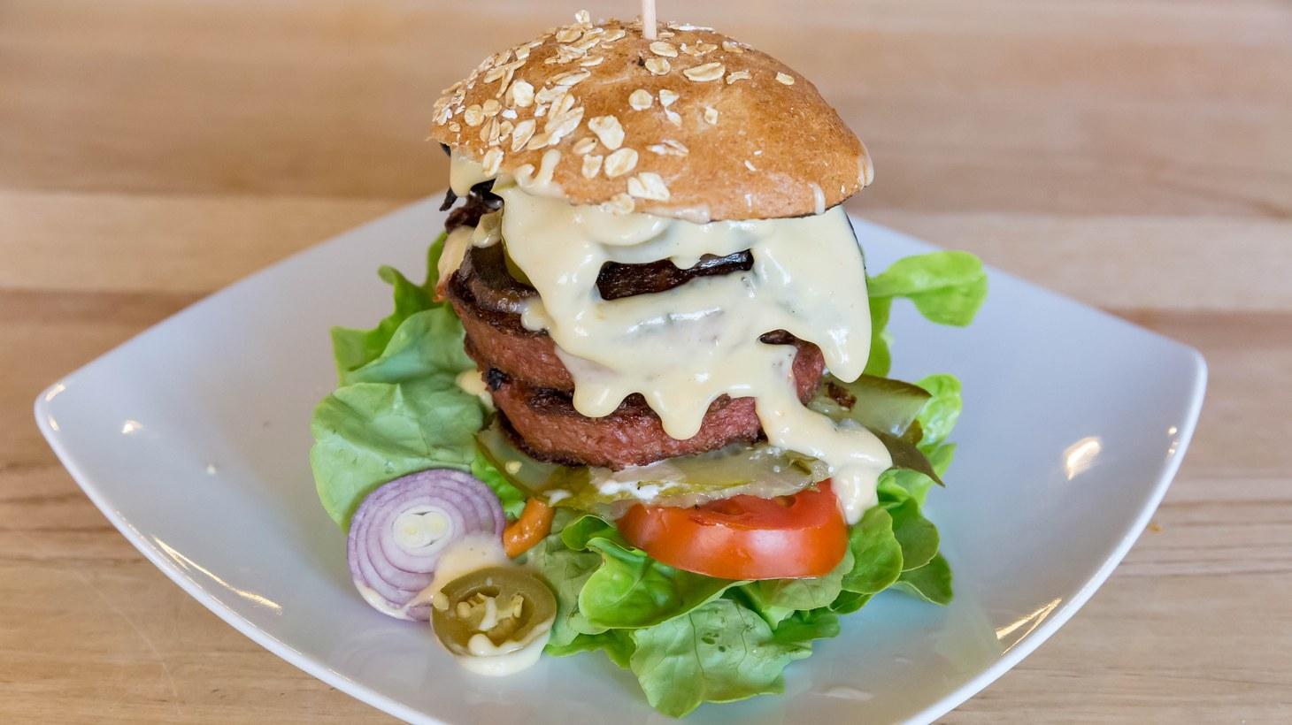 Beyond Meat burger.