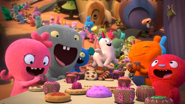 "Our critics review ""Uglydolls,"" an animated musical that celebrates weirdness, starring Kelly Clarkson, Nick Jonas and Emma Roberts; ""The Intruder,"" in which a young married couple…"