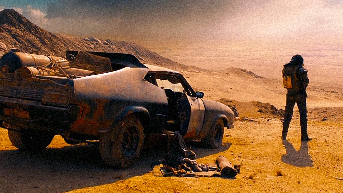 A 92-year-old media mogul resigns amid major conflict and we talk to director George Miller about  his Mad Max movies  .