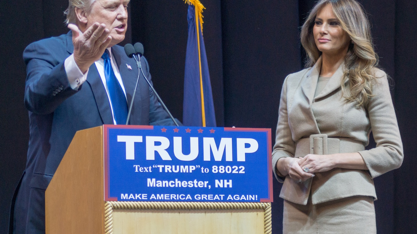 Melania Trump will be the headline speaker Monday at the Republican Convention in Cleveland. Trump has had problems courting women voters. We ask some conservative women at the Republican National Convention to tell us their feelings about the candidate.