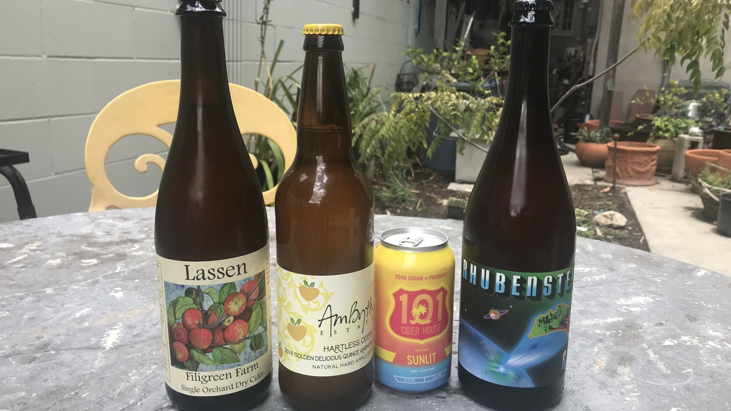 Madeleine Brand and Evan Kleiman recently tasted these ciders.