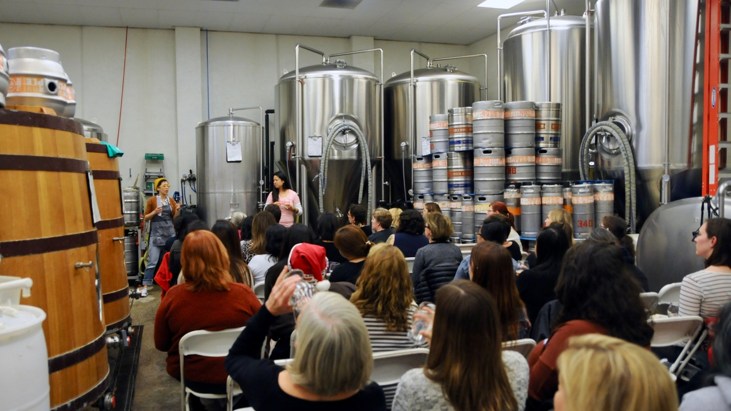 In 2011, the owner of the Eagle Rock Brewery started hosting beer seminars for women. The events were part networking and part opportunity for women to learn about beer. Then a men's rights activist claimed the events were discriminatory.