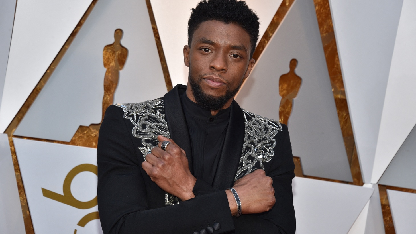 File photo dated March 4, 2018 of Chadwick Boseman arriving for the 90th annual Academy Awards held at the Dolby Theatre in Los Angeles, CA, USA. US actor Chadwick Boseman, best known for playing Black Panther in the hit Marvel superhero franchise, has died of cancer aged 43.