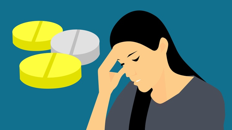 Compared to men, women are three times more likely to suffer from migraine (yes, singular, like cancer or depression).