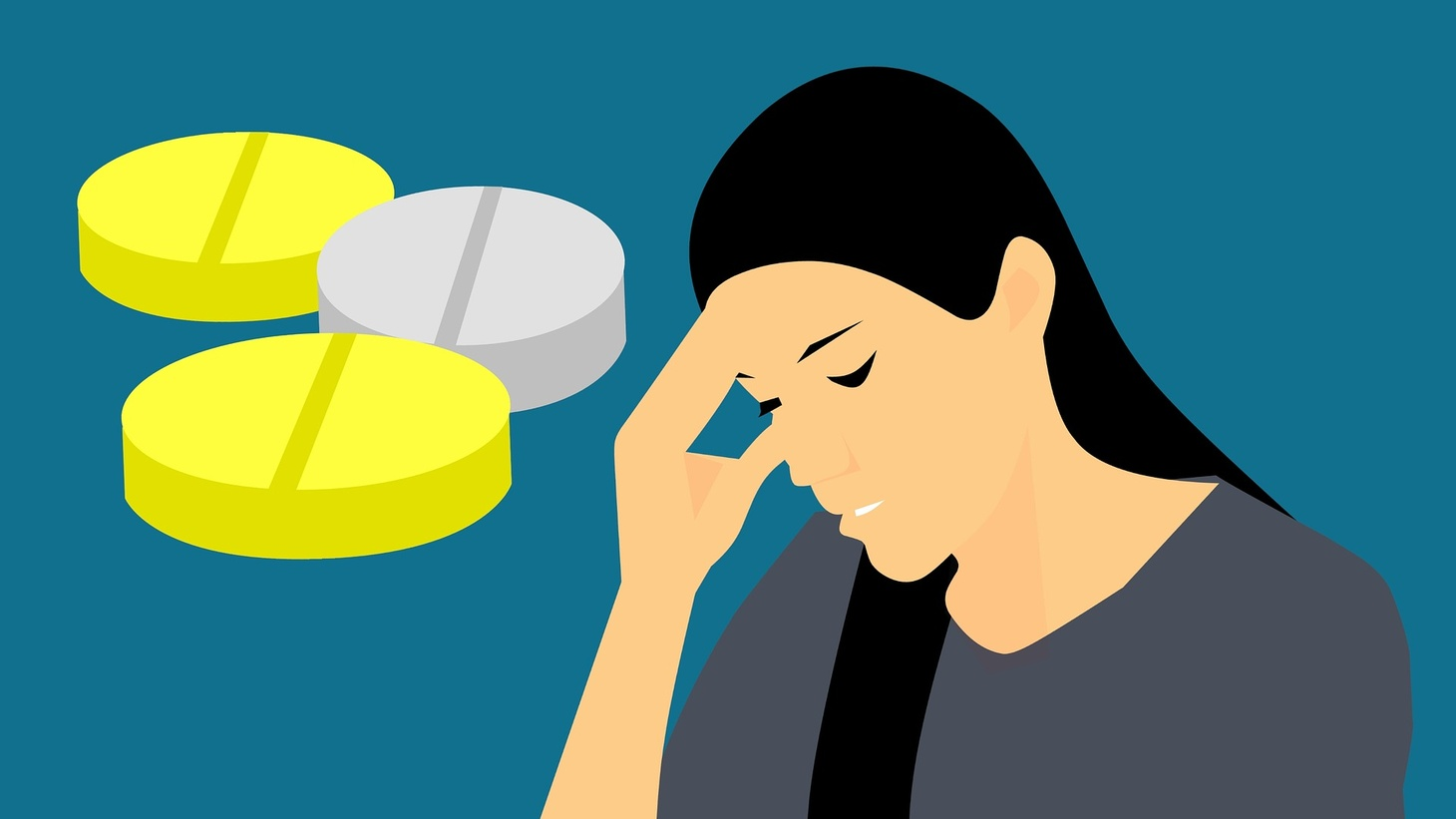 Some say migraine can be triggered by caffeine, dehydration, or even weather changes. It brings an onslaught of pain, light sensitivity, and nausea.