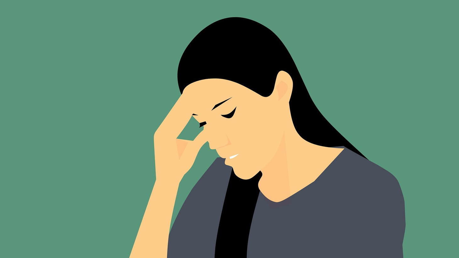 Women are three times more likely to suffer from migraine than men.