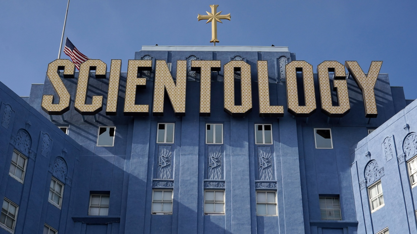 The Church of Scientology, April 5, 2021, in Los Angeles.