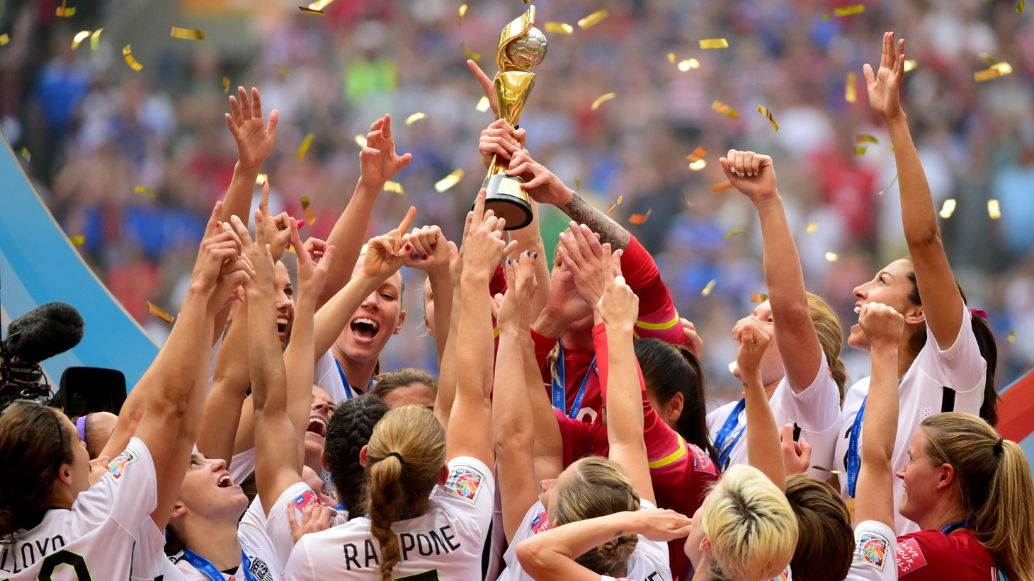 After their impressive World Cup win, will the women of US soccer get a more impressive bite out of the endorsement apple? Also, how the U.S. Chamber of Commerce has become a political juggernaut for many corporate causes that go against the public good.
