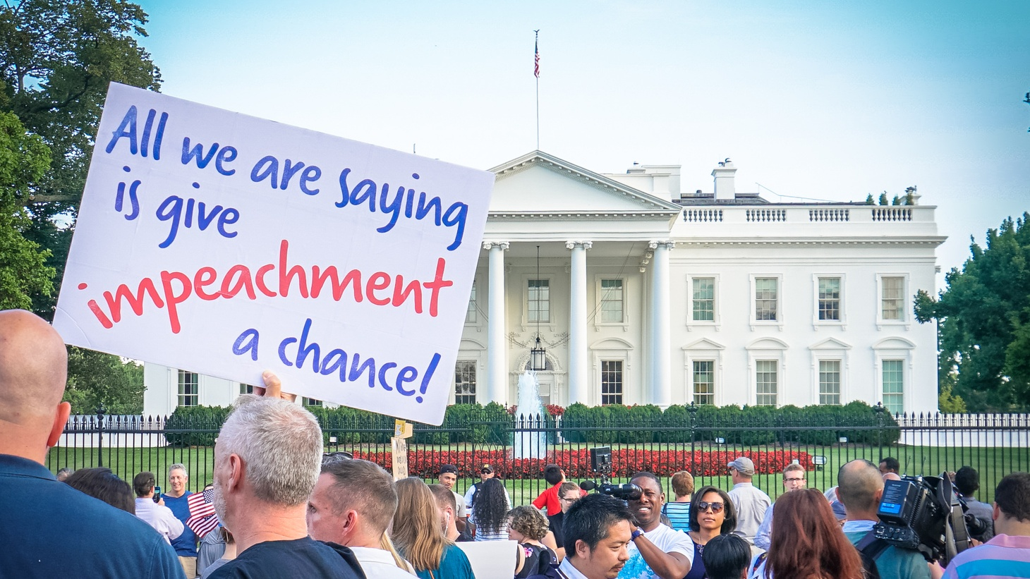 A protest outside the White House. Credit: Ted Eytan/CC BY-SA 2.0.