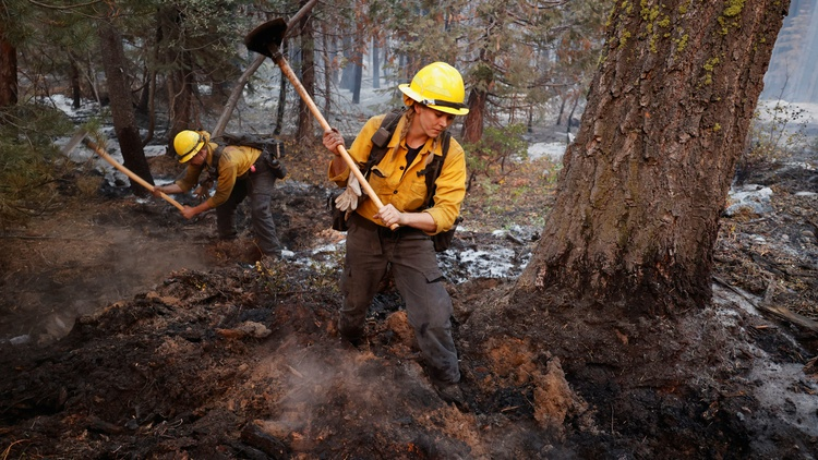 """""""There's already a kind of a burnout factor. I mean, six of the seven largest fires in California history have all burned within the last 11 months."""