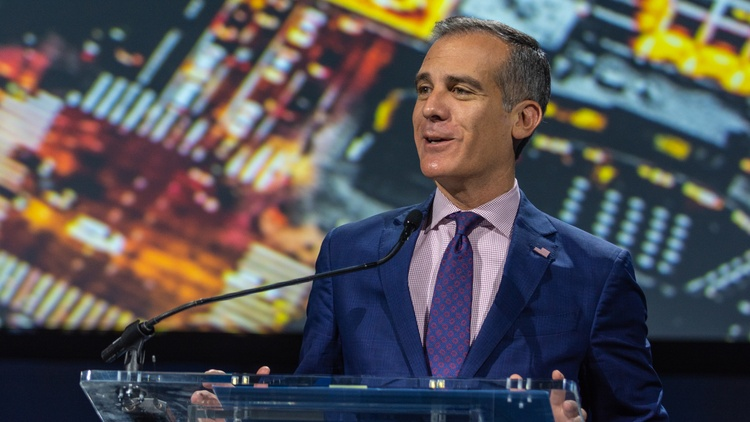 Last week, Axios broke news that the White House might consider LA Mayor Eric Garcetti for a high-profile diplomatic post: ambassador to India.
