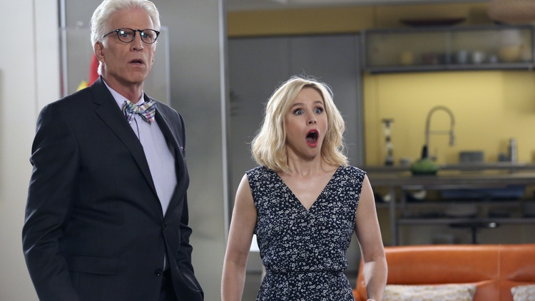 """   The Good Place   ,"" the popular NBC comedy series starring Kristen Bell and Ted Danson, is streaming on Netflix and Hulu. Its fourth and final season aired in January."