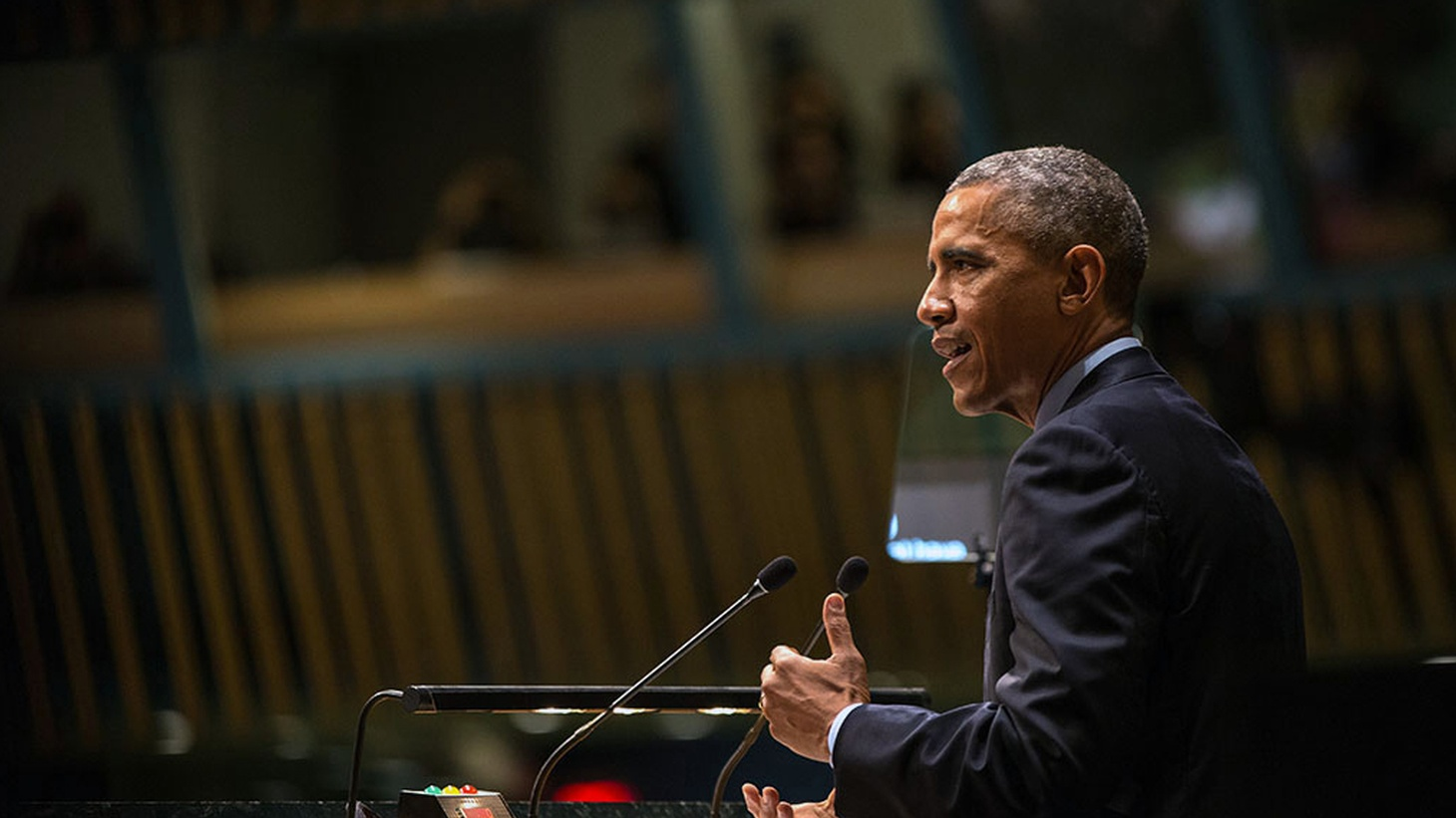 President Obama gave his final address to the UN General Assembly Tuesday. With the conflict in Syria still unresolved and millions displaced, what will Obama's foreign policy legacy be?