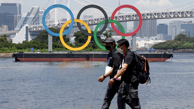 Expect more positive coronavirus cases at the Olympic Village and athletes riddled with unprecedented anxiety, says ESPN national reporter Michele Steele.