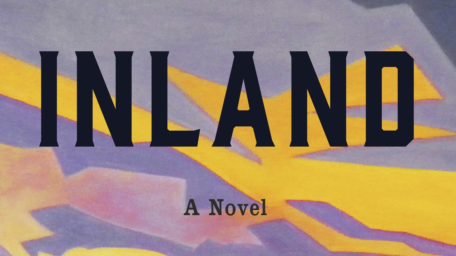 "The cover of ""Inland."""