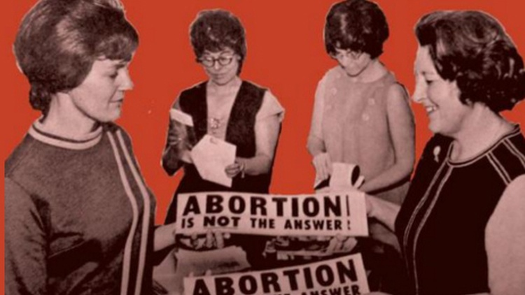 Abortion has come up again and again on the campaign trail, and the rhetoric is (no surprise) split along partisan lines. Republicans want to overturn Roe v.