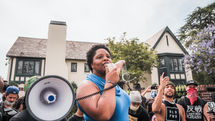 Black Lives Matter co-founder Patrisse Cullors talks about the future of the movement, defunding the police, and reallocating resources.