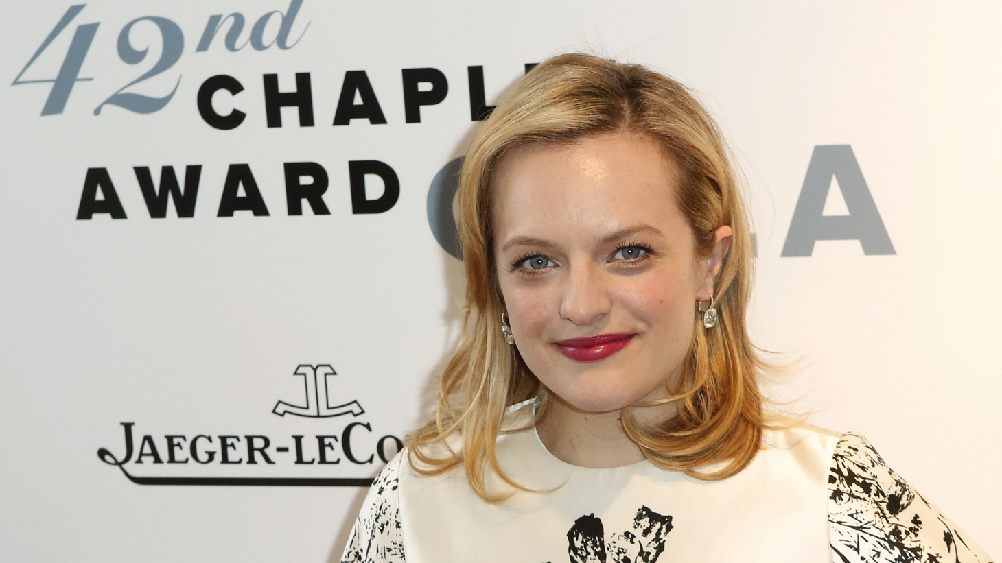 "Actress Elizabeth Moss stars in the new biopic called ""Shirley."""