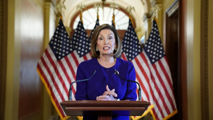 For months, House Speaker Nancy Pelosi resisted the mounting calls from her caucus to start impeachment proceedings.