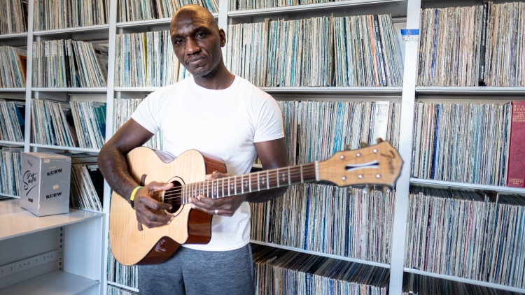 Musician Cedric Burnside is preserving what his famed grandfather R.L. Burnside helped create: a rural, lo-fi, twangy-groove genre.