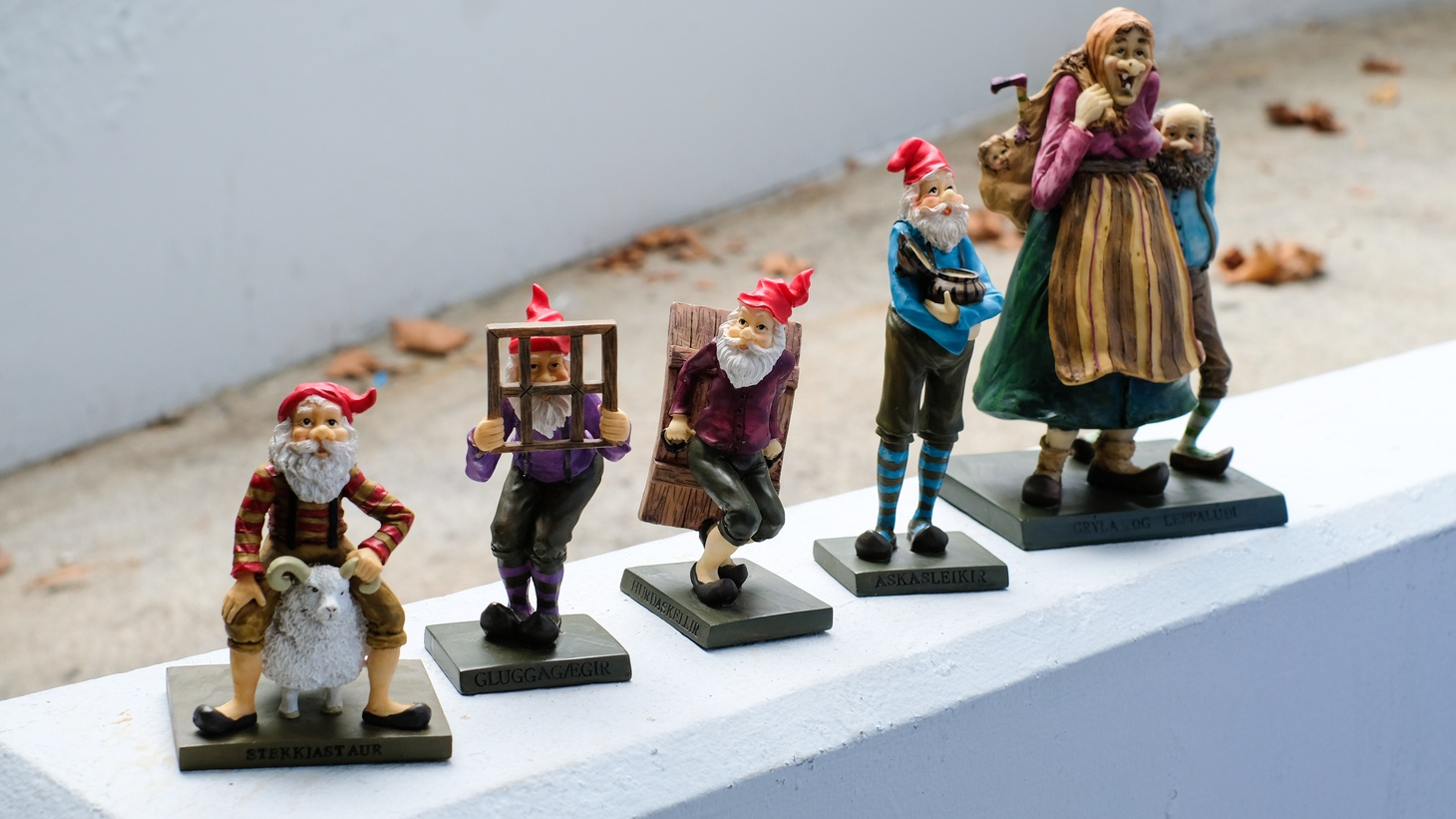 Some of the Yule Lads.