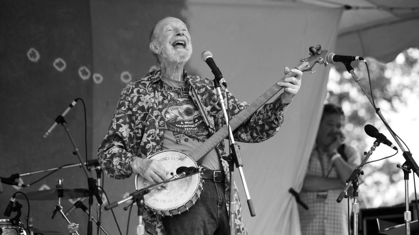 Today on Press Play: the life and legacy of Pete Seeger, our Fault Lines series explores the medium income in L.A. County, the gluten-free craze, and more.
