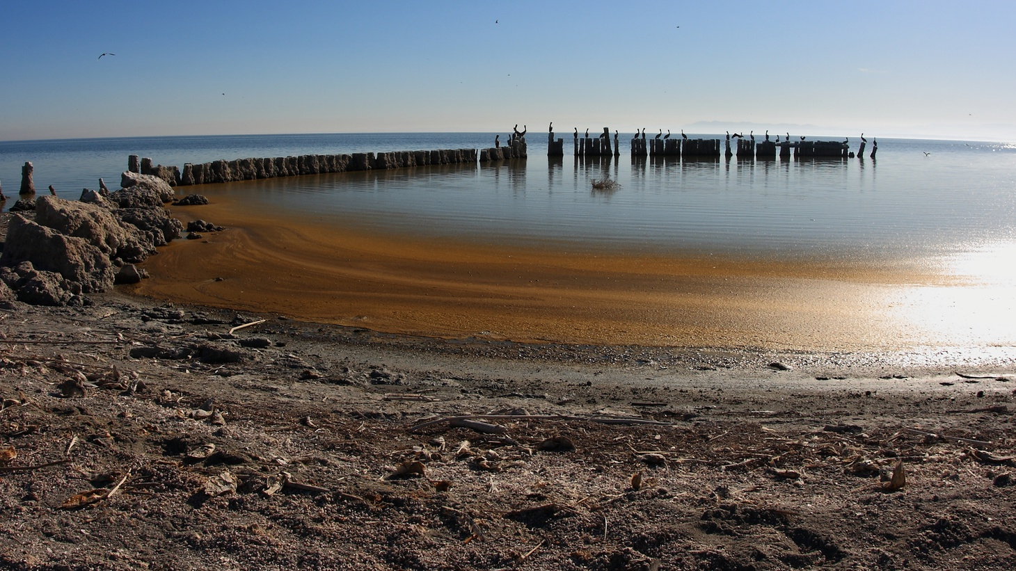 The Salton Sea could help provide a substantial resource of lithium, which is part of batteries for electric cars and cell phones.