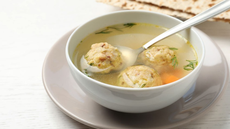 How to make matzo balls and chicken broth for Passover Seder
