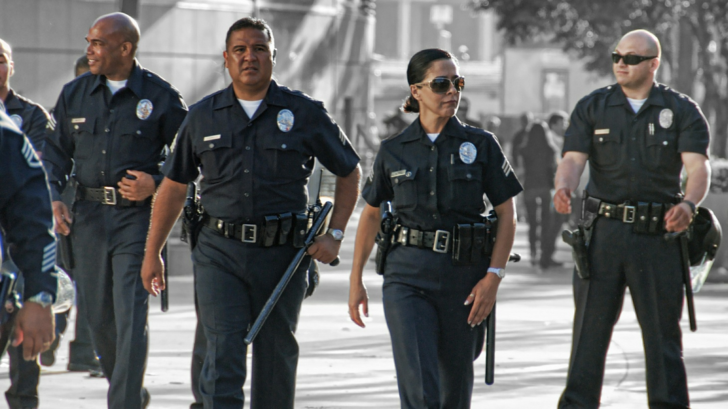 Segments from the past year that examine policing in Los Angeles, the culture of the LAPD and life in South L.A.