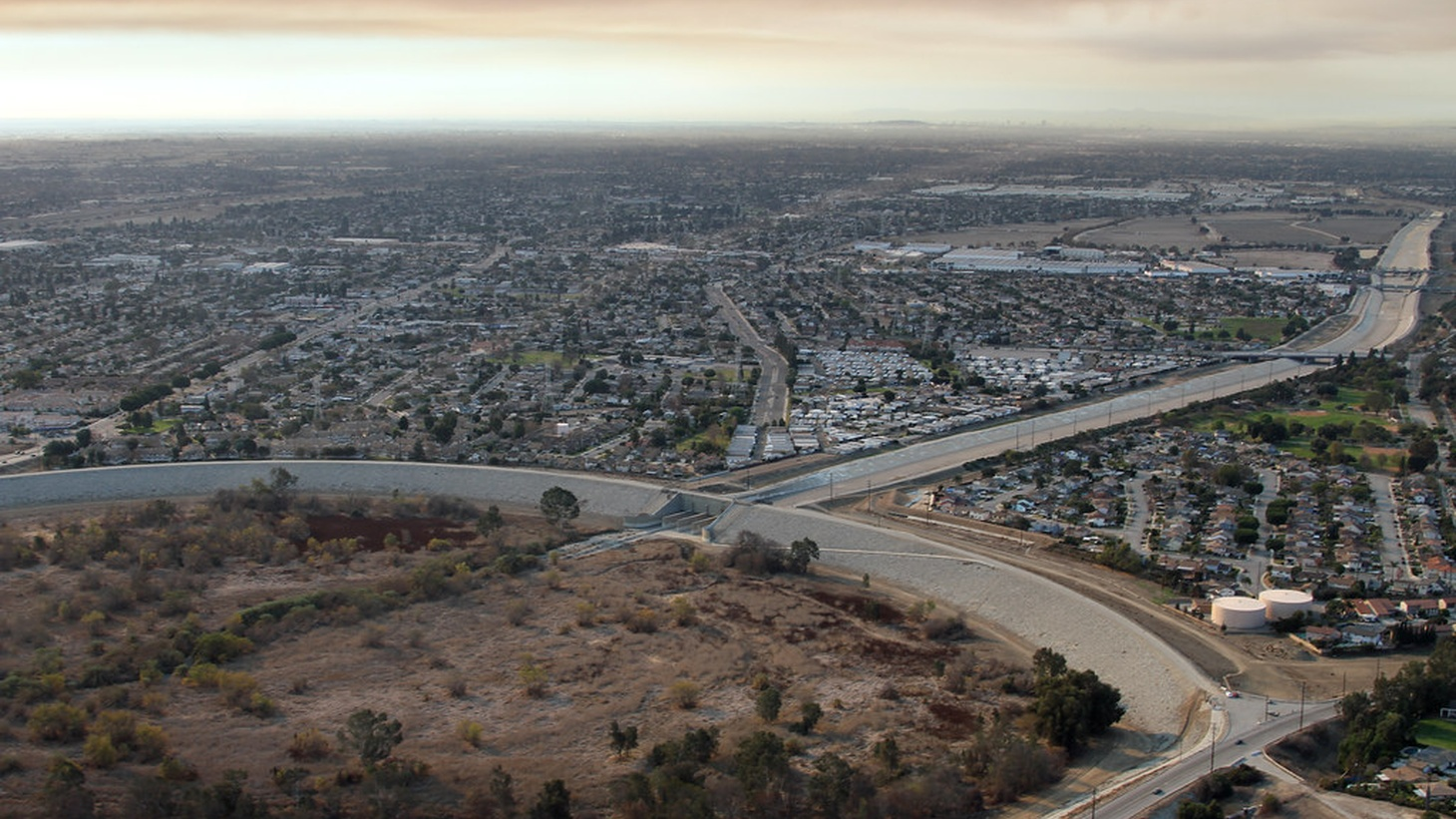 """California's Whittier Narrows Dam is more than 50 feet tall, and is part of the Los Angeles County Drainage Area flood control system. However, """"Deep Water"""" author Jacques Leslie says many of the state's dams are old and need repairs."""