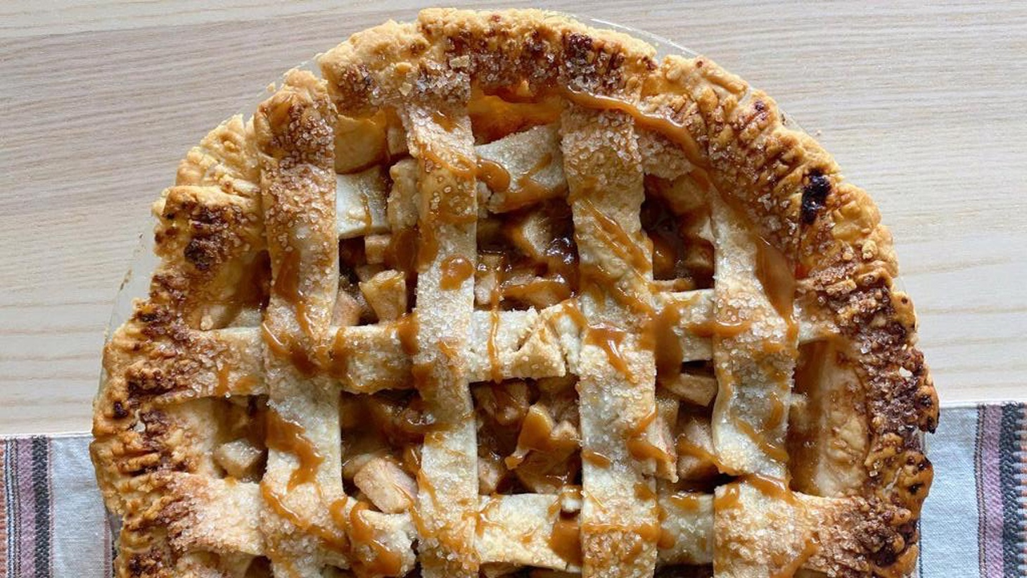 """""""If you just want to make a good effort and then laugh a lot and then eat whatever you get, then try making a pie!"""" says Evan Kleiman."""
