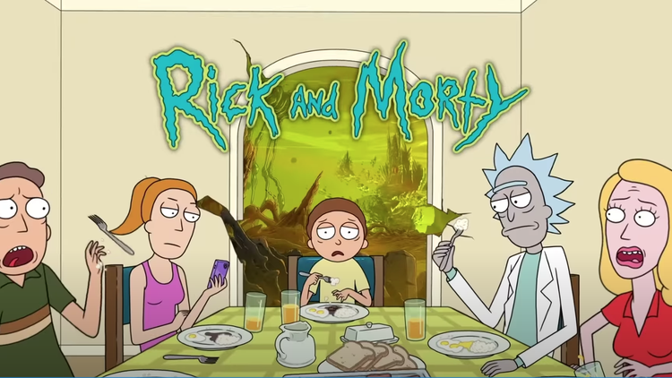 """On the animated show """"Rick and Morty,"""" a mad scientist named Rick drags his awkward, anxious 14-year-old grandson Morty into adventures that often include space travel, battles with…"""