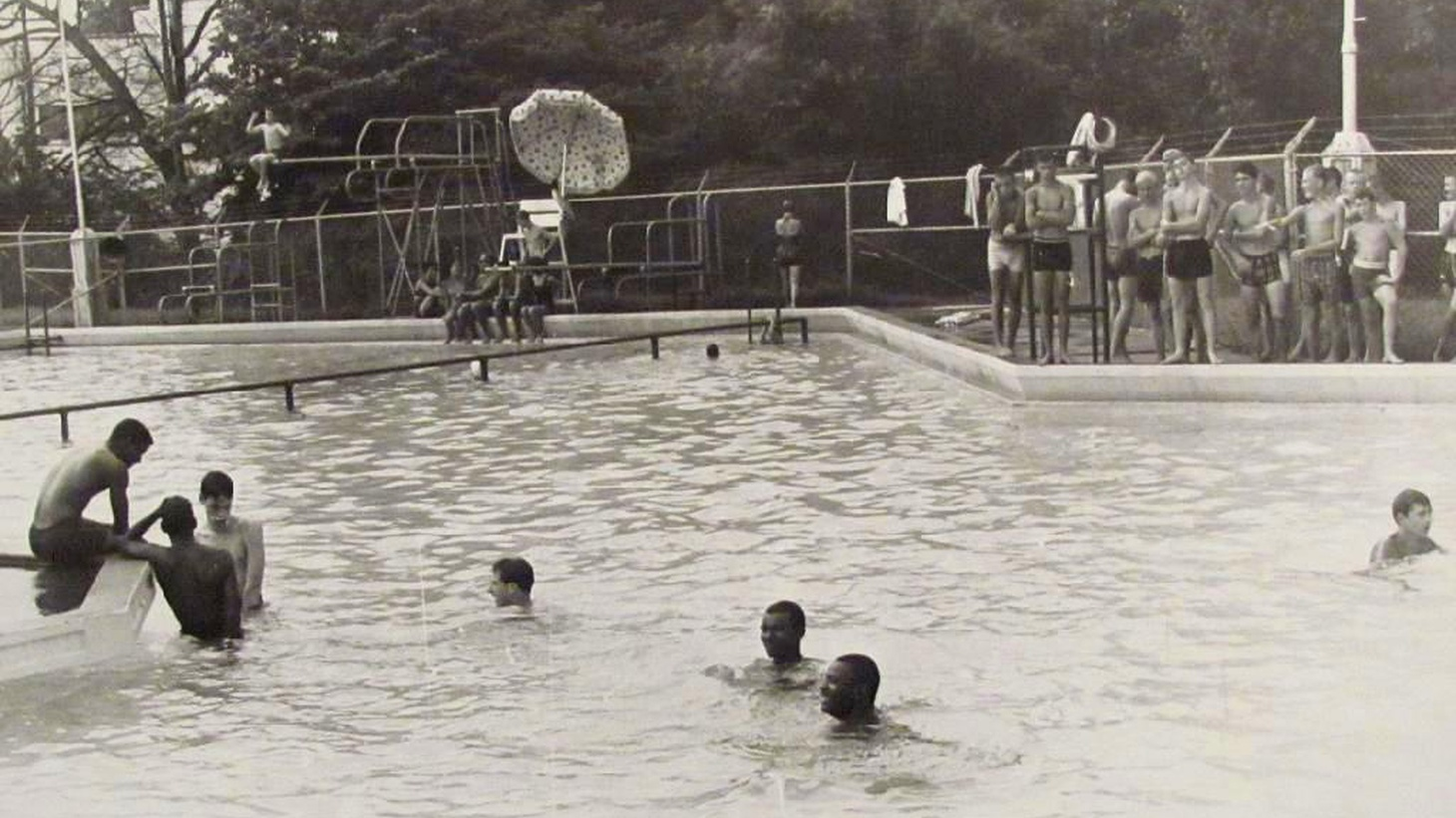 The town of McKinney, Texas is in the news after a video surfaced over the weekend of a white police officer using force on a group of black teens at a pool party. We look at the surprisingly intertwined history of public pools and segregation.