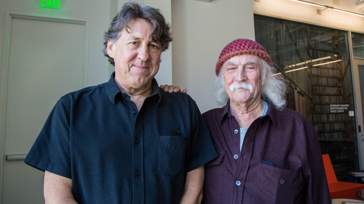 David Crosby wrote and/or sang many songs associated with the golden age of American rock music.