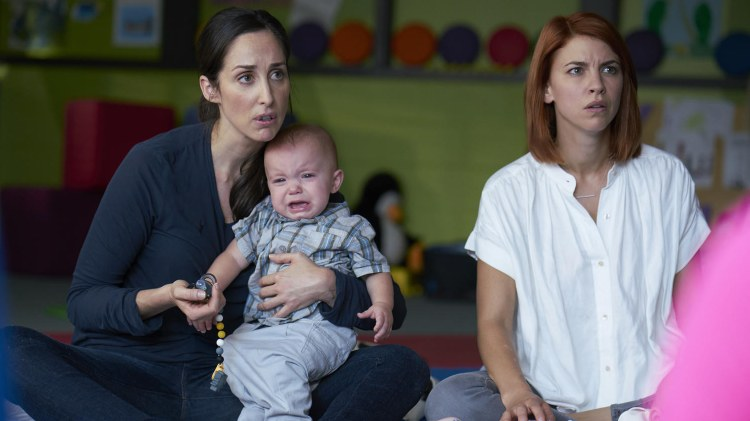"Canadian comedy ""Workin' Moms"" is in its third season. The show, which gained attention in the U.S. after Netflix picked it up, follows four women and their lives after giving birth."