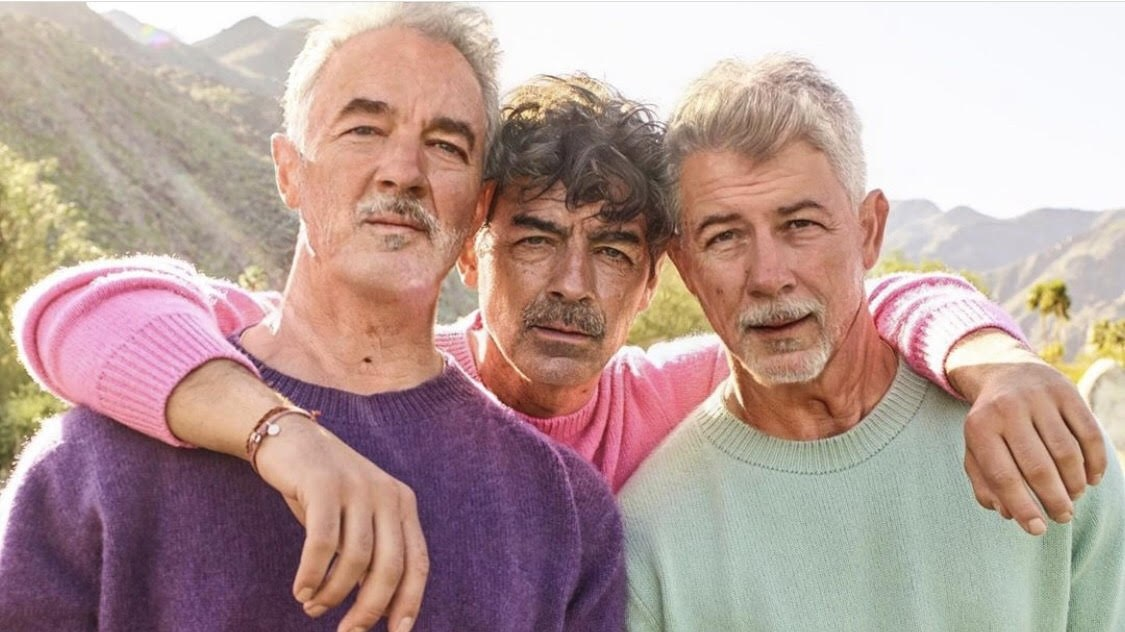 The Jonas Brothers used FaceApp to post this picture on their Instagram.