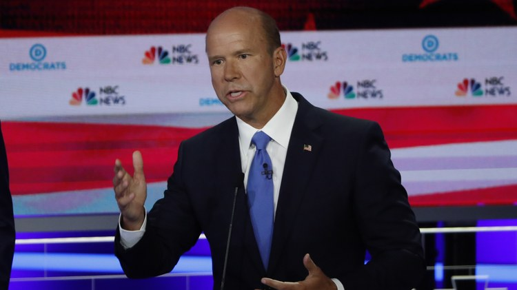 John Delaney    declared    his 2020 presidential run before any other candidate did. It happened just six months into President Trump's term.