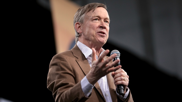 Former Colorado governor John Hickenlooper is known for his centrist views.