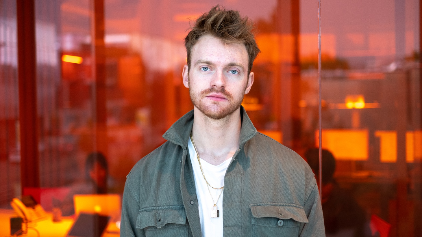 Finneas O'Connell at KCRW.