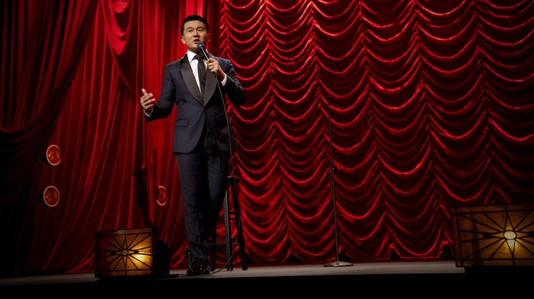 "Malaysian-born comedian and actor Ronny Chieng (""The Daily Show,"" ""Crazy Rich Asians"") is out with a new Netflix special called ""Asian Comedian Destroys America!"""